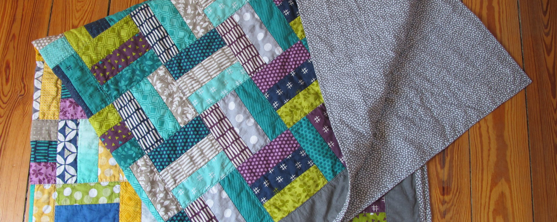 patchworkdecke aus jelly rolls