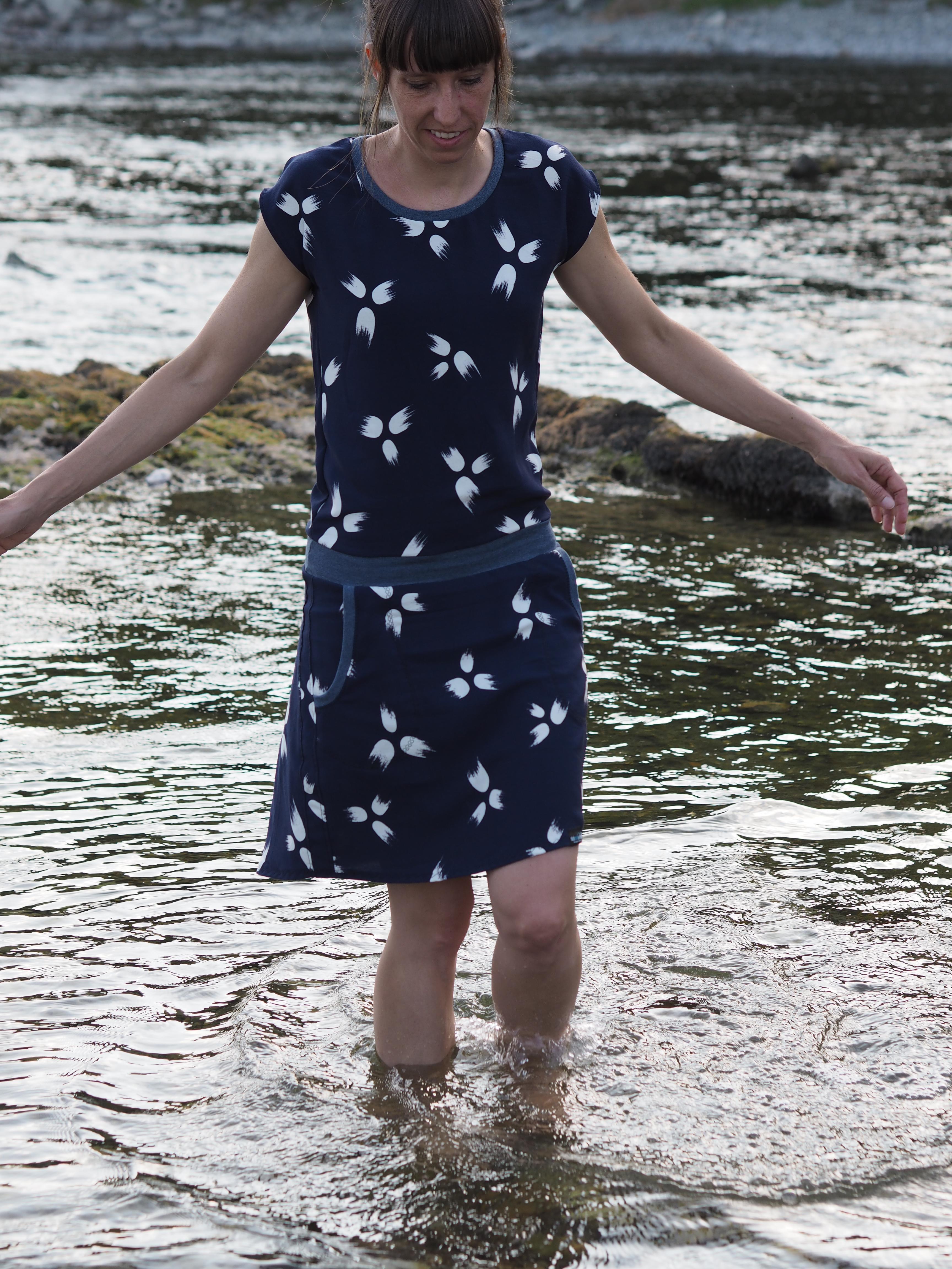 Schnittmuster Lady Jumpee Kleid NipNaps