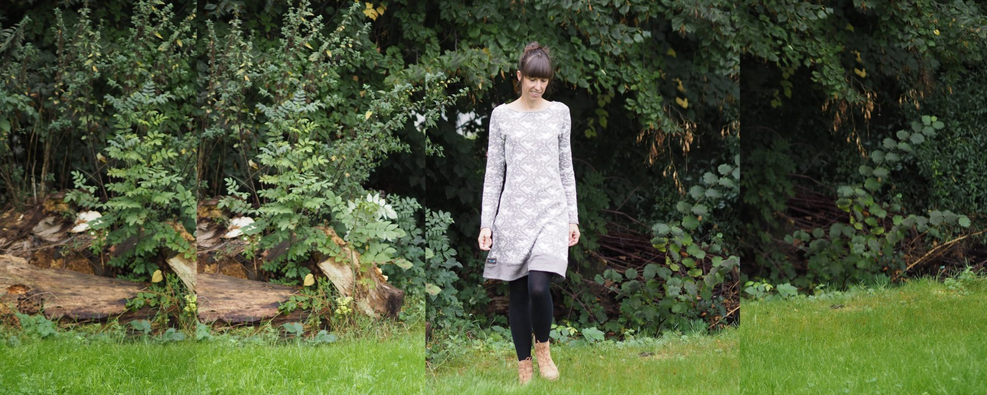 Lillesol & Pelle Jacquard-U-Boot-Kleid | weisnähschen