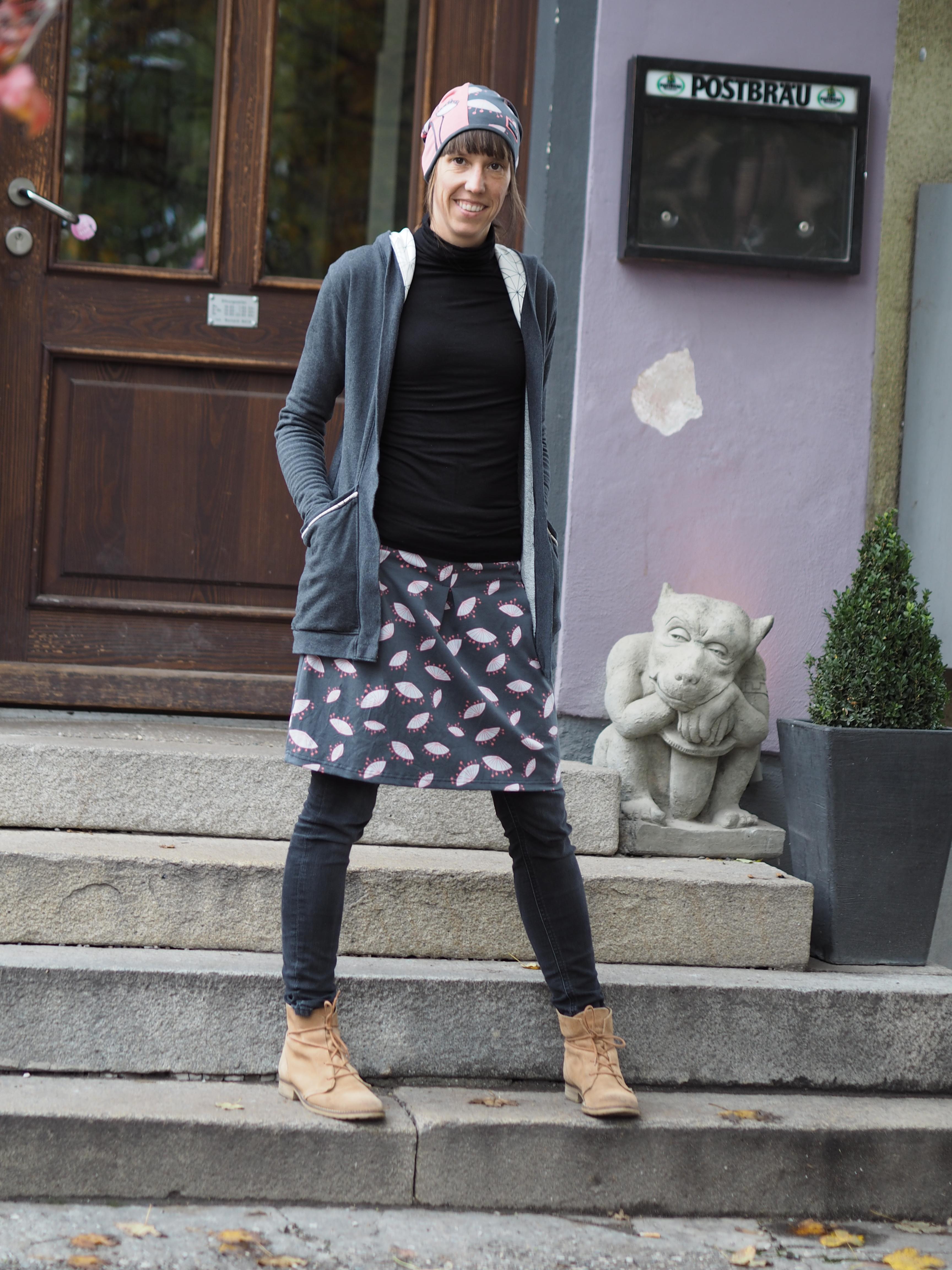 Schnittmuster Frau Antje AVALANA Jersey