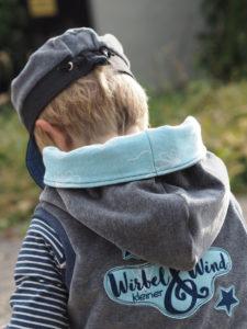 Schnittmuster Wirbel und Wind Jojolino Weste Astrokatze