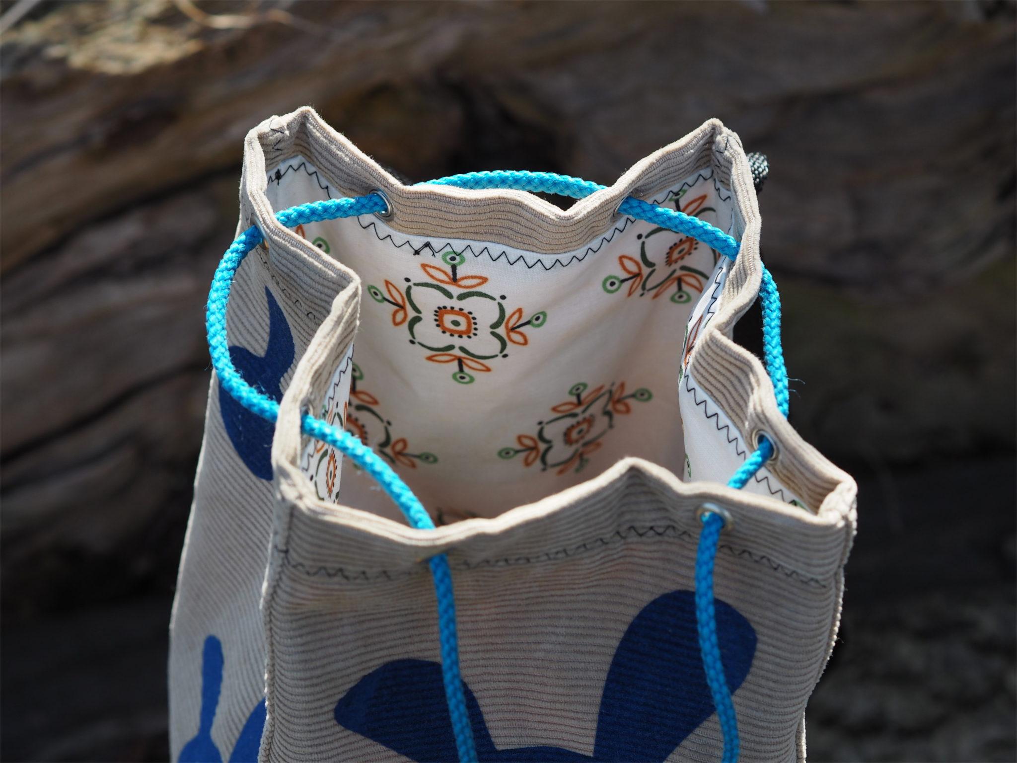 Attractive Beutel Schnittmuster Embellishment - Decke Stricken ...