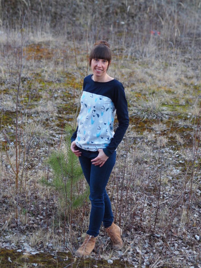 Schnittmuster nähen 2 Lillesol & Pelle women Nr.28 Shirt 1