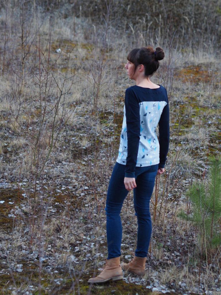 Schnittmuster nähen 2 Lillesol & Pelle women Nr.28 Shirt 2