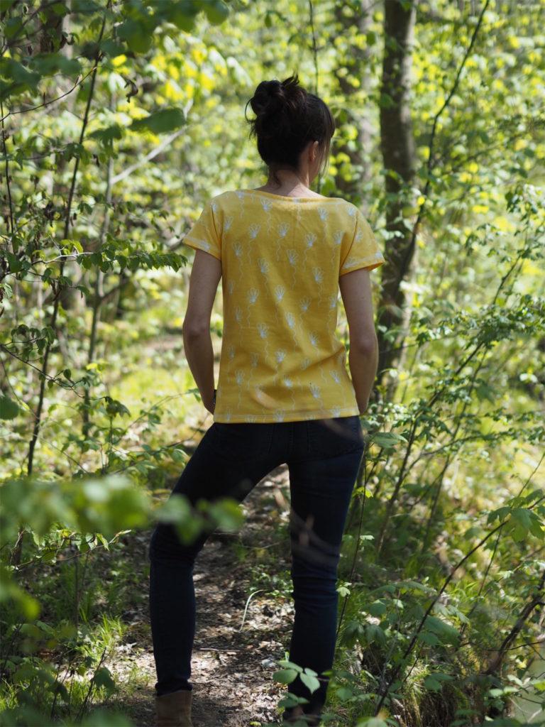 Schnittmuster nähen UBoot Shirt Lilla 2 Textilsucht 1
