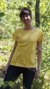Schnittmuster nähen UBoot Shirt Lilla 2 Textilsucht 2