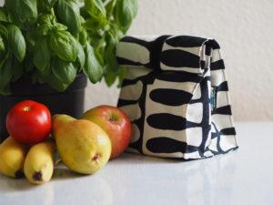 Schnittmuster nähen Freebook Lunchbag pattydoo 11