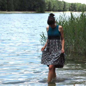 Schnittmuster nähen Kleid Kelani Textilsucht 11