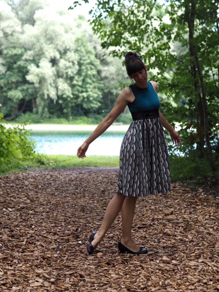 Schnittmuster nähen Kleid Kelani Textilsucht 1