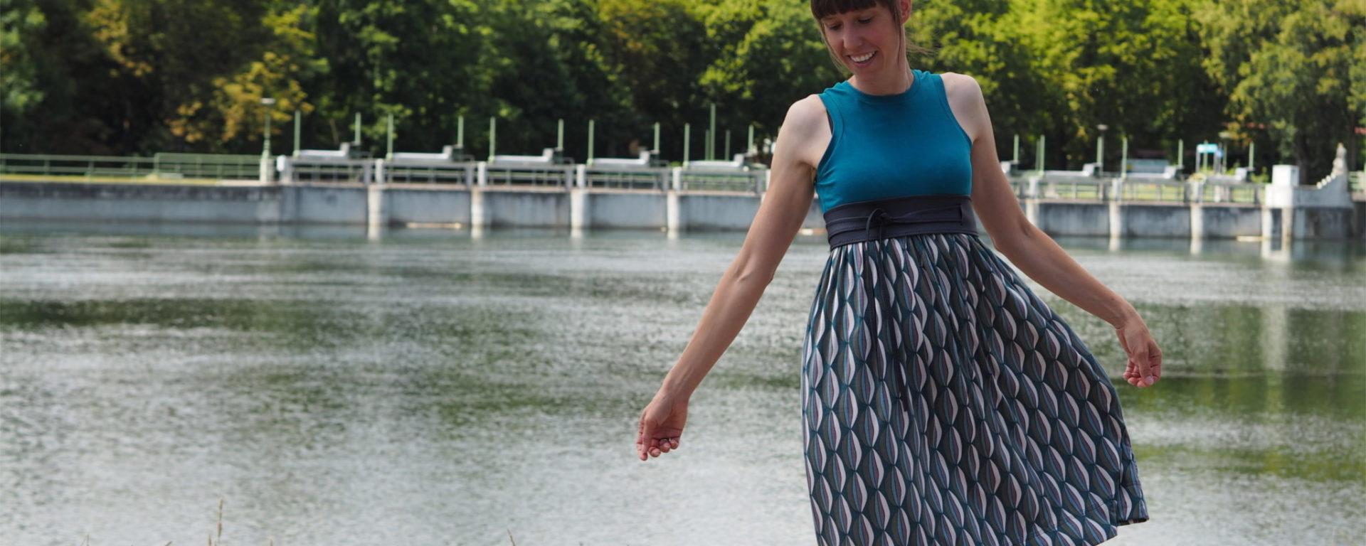 Sommerkleid Kelani   weisnähschen