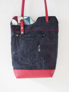 renske's minimalist tote bag nähen schnittmuster 1