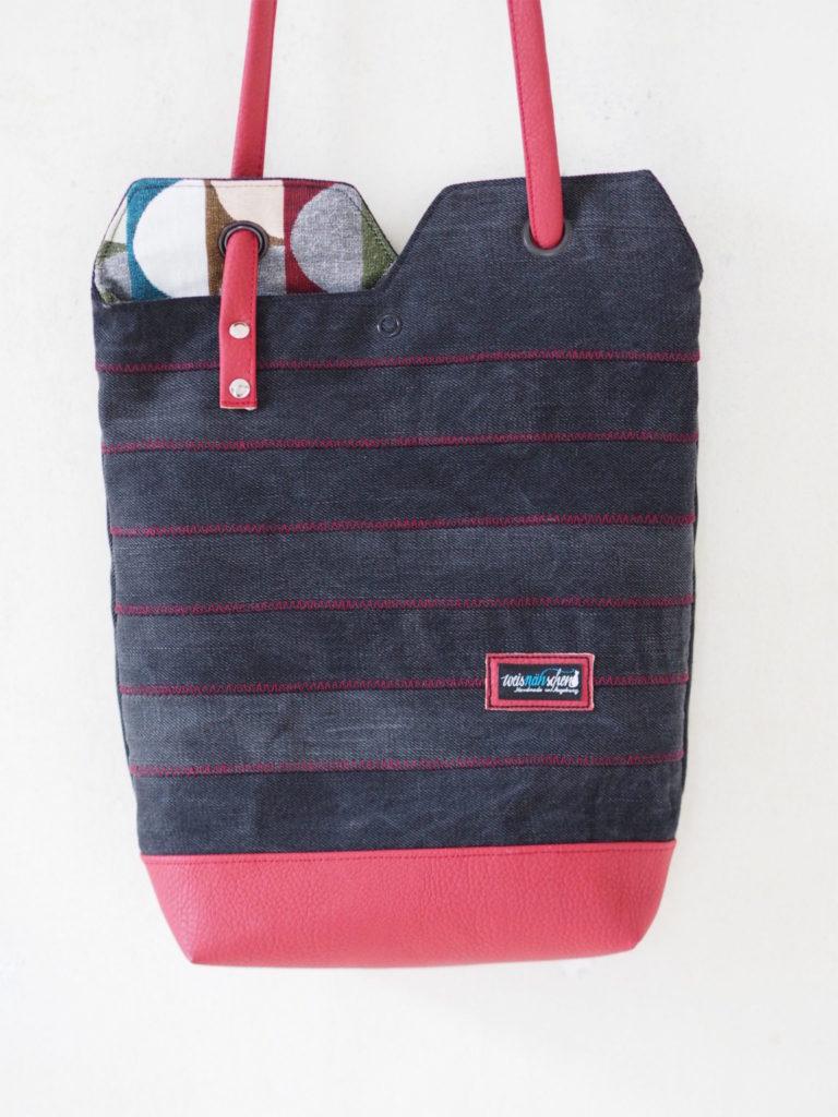 renske's minimalist tote bag nähen schnittmuster 2