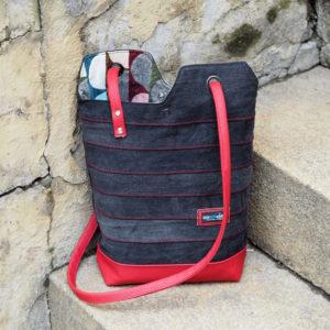 renske's minimalist tote bag nähen schnittmuster insta 2b