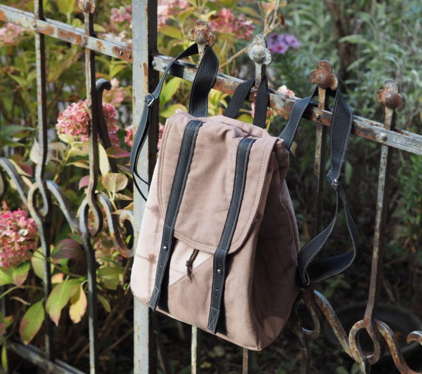 Schnittmuster Rucksack nähen Every Day Bag Textilsucht 18