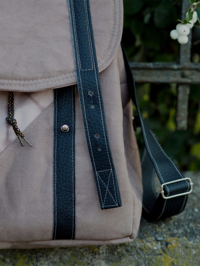 Schnittmuster Rucksack nähen Every Day Bag Textilsucht 3