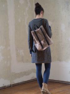 Schnittmuster nähen Kuschelwarm Raglankleid Textilsucht 7