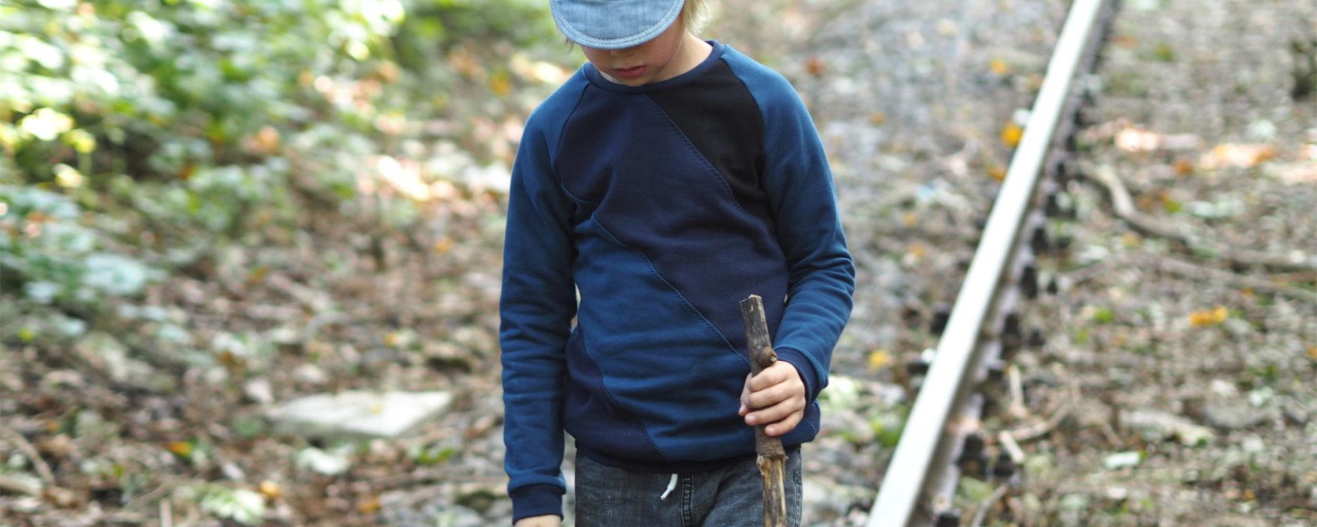 Raglanhoodie – diesmal ohne Kapuze   weisnähschen