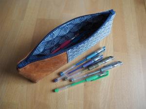 Schnittmuster Canvas Pencil Pouch nähen Noodlehead 4