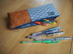 Schnittmuster Canvas Pencil Pouch nähen Noodlehead 5