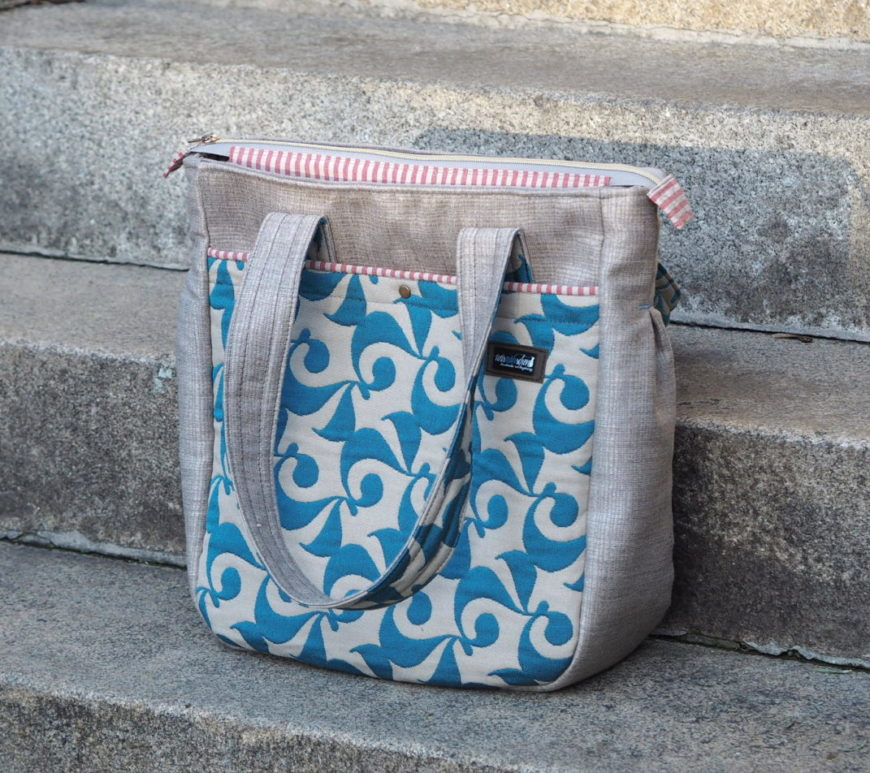 Schnittmuster nähen Tasche Super Tote Bag noodlehead 16