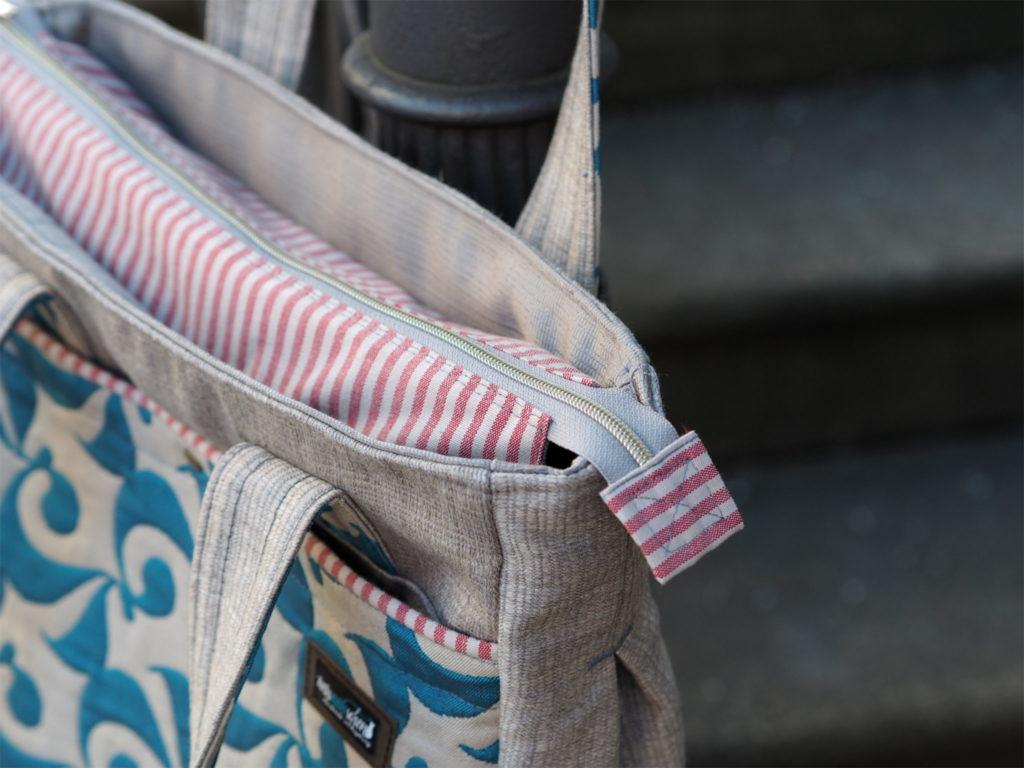 Schnittmuster nähen Tasche Super Tote Bag noodlehead 3