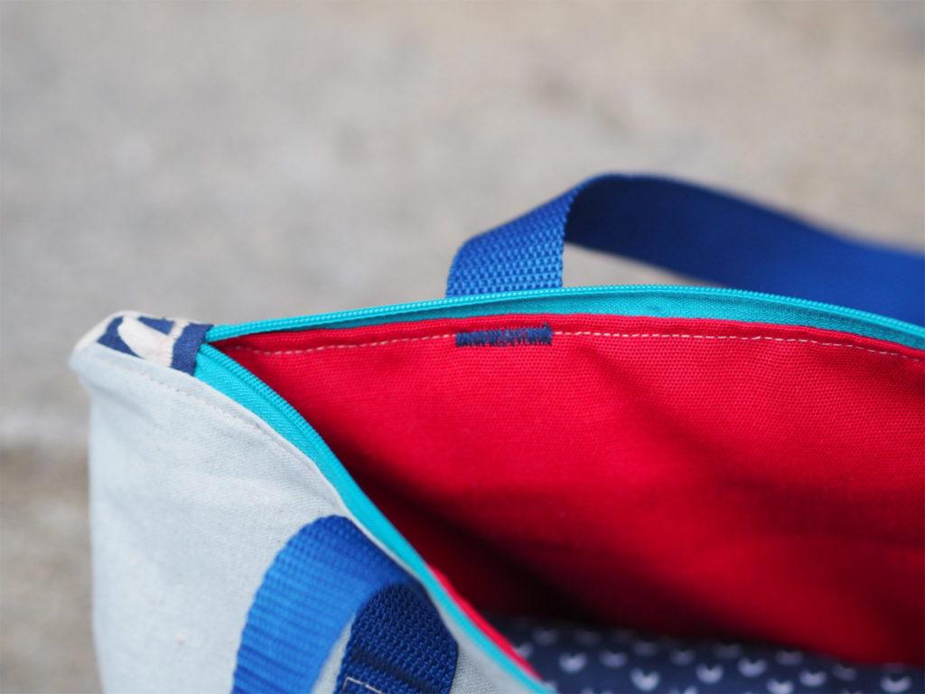 Schnittmuster nähen RuckZuck Tasche Taschenspieler4 Farbenmix 11