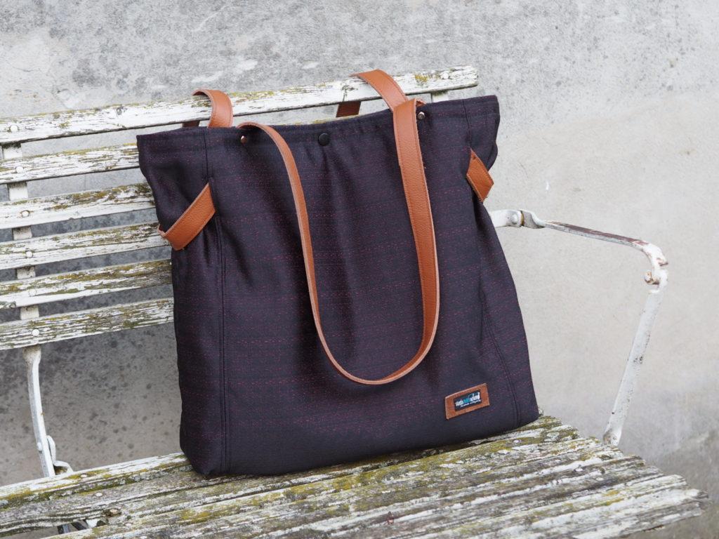 Schnittmuster CarryBag Taschenspieler 4 nähen farbenmix 4