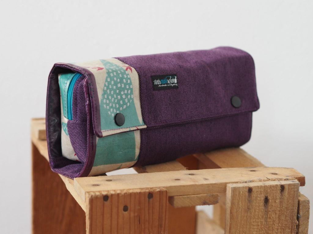 Schnittmuster RollUp Tasche farbenmit Taschenspieler4 nähen 1