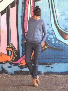 Schnittmuster nähen Jeans Hose COS Evlis Needle 3