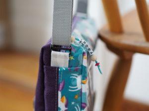 Schnittmuster nähen Taschenspieler Hüfttasche farbenmix 10