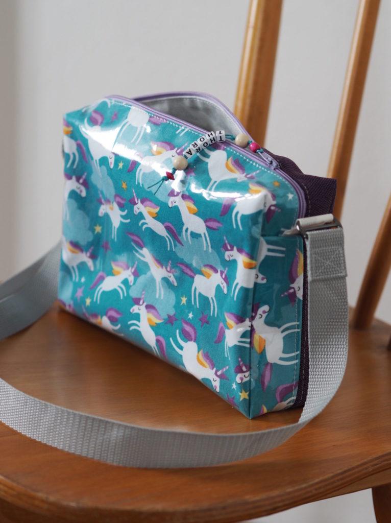Schnittmuster nähen Taschenspieler Hüfttasche farbenmix 4