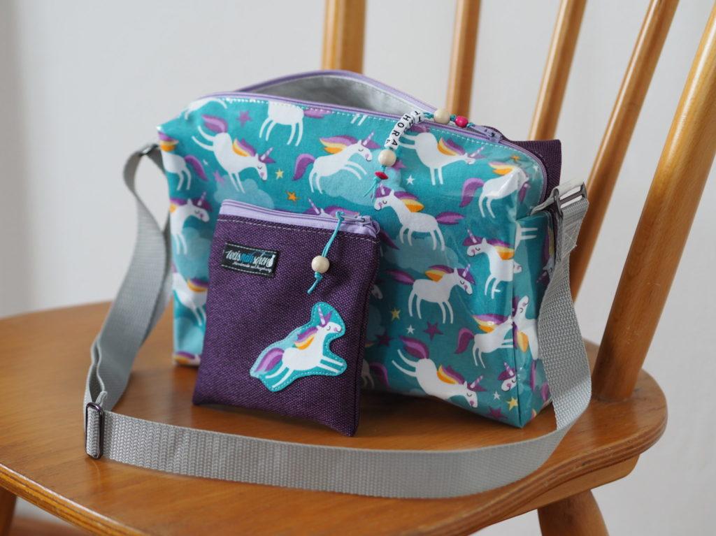 Schnittmuster nähen Taschenspieler Hüfttasche farbenmix 5
