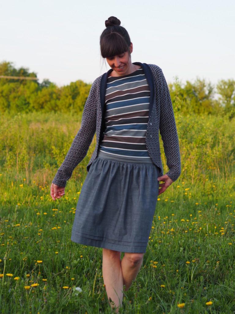 Schnittmuster Pariser Rock Paris Skirt nähen 1