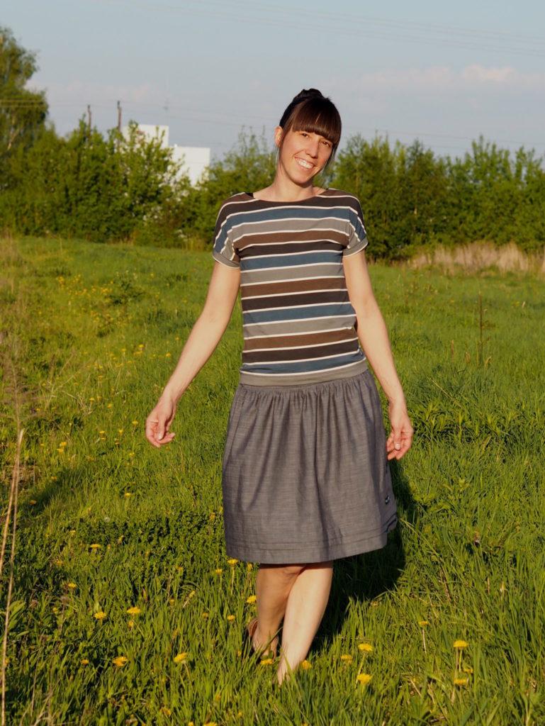 Schnittmuster Pariser Rock Paris Skirt nähen 4