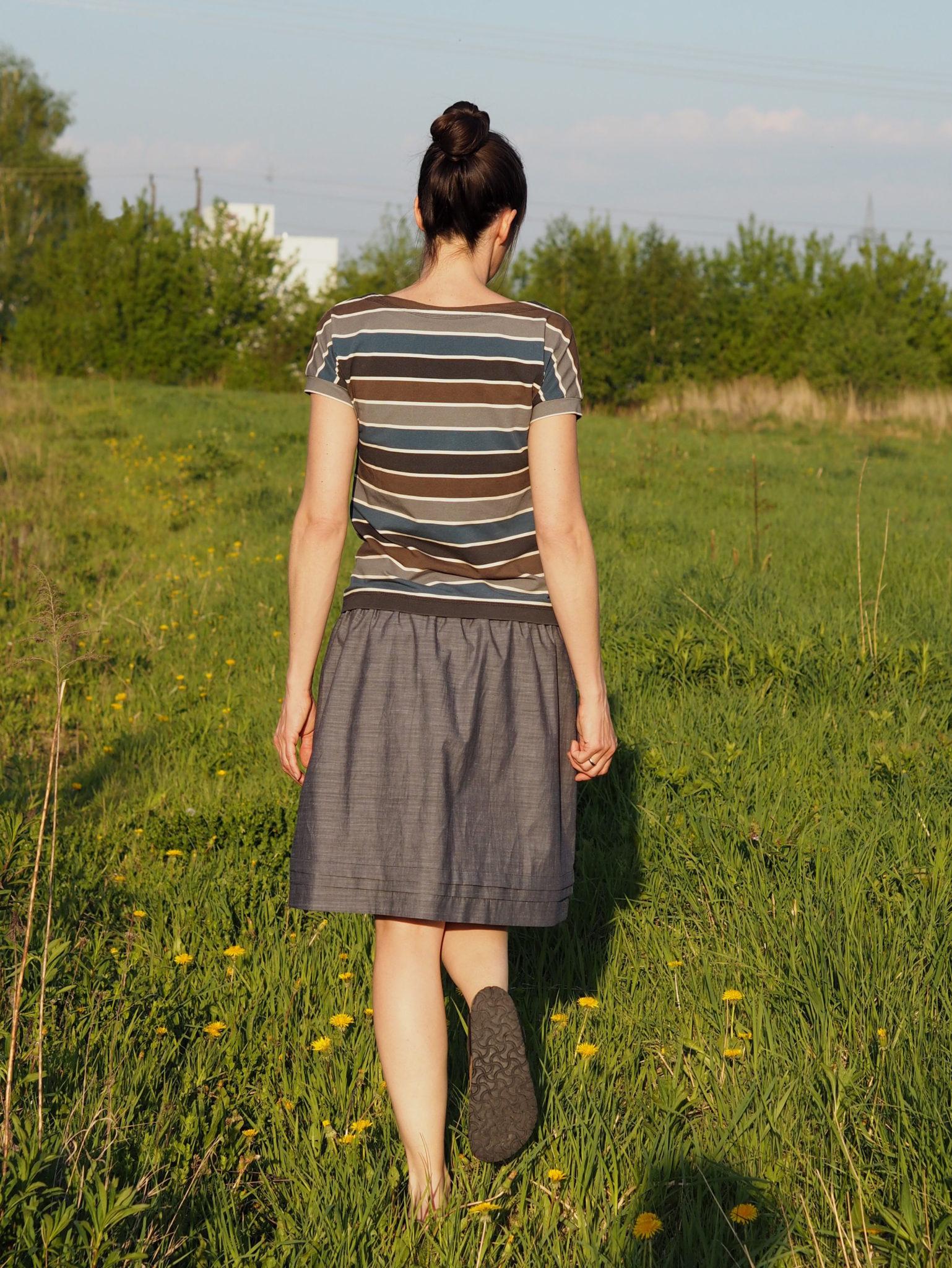 Schnittmuster Pariser Rock Paris Skirt nähen 5 – weisnähschen
