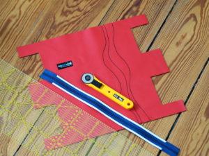 Schnittmuster RollUp Tasche farbenmix nähen 2