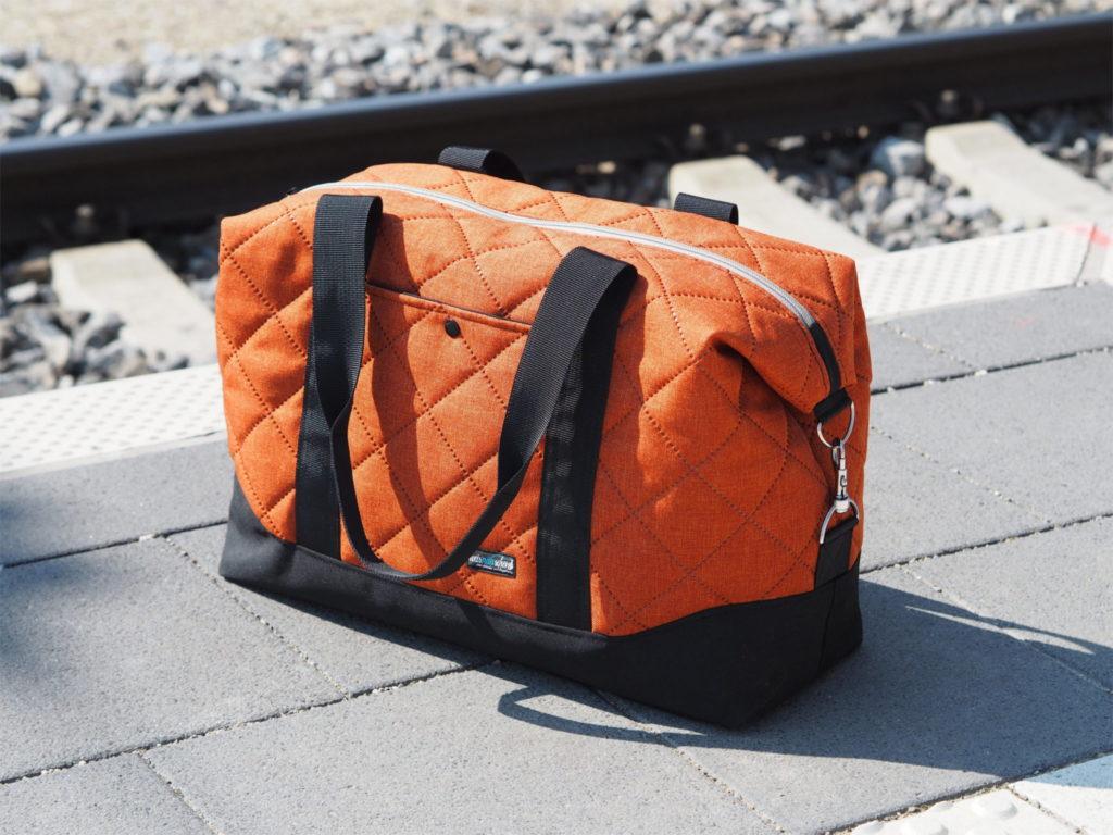Eine Reisetasche zum Finale!   weisnähschen