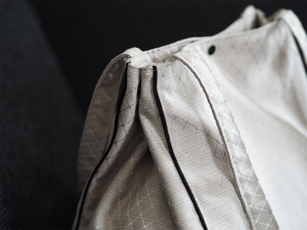 Schnittmuster nähen farbenmix Taschenspieler 4 EdelShopper Tasche 10