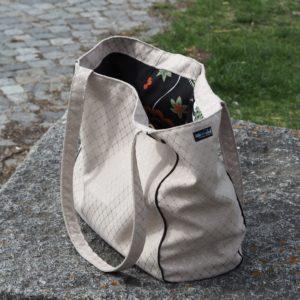 Schnittmuster nähen farbenmix Taschenspieler 4 EdelShopper Tasche 6