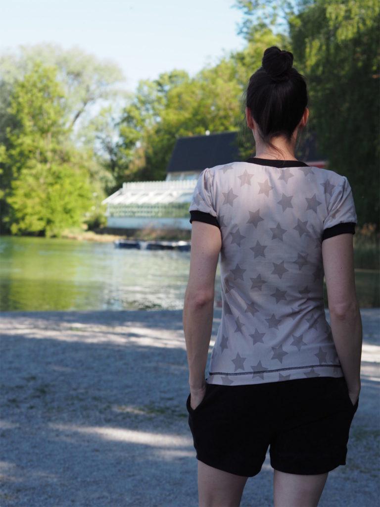 Schnittmuster Shirt Venla Textilsucht nähen 2