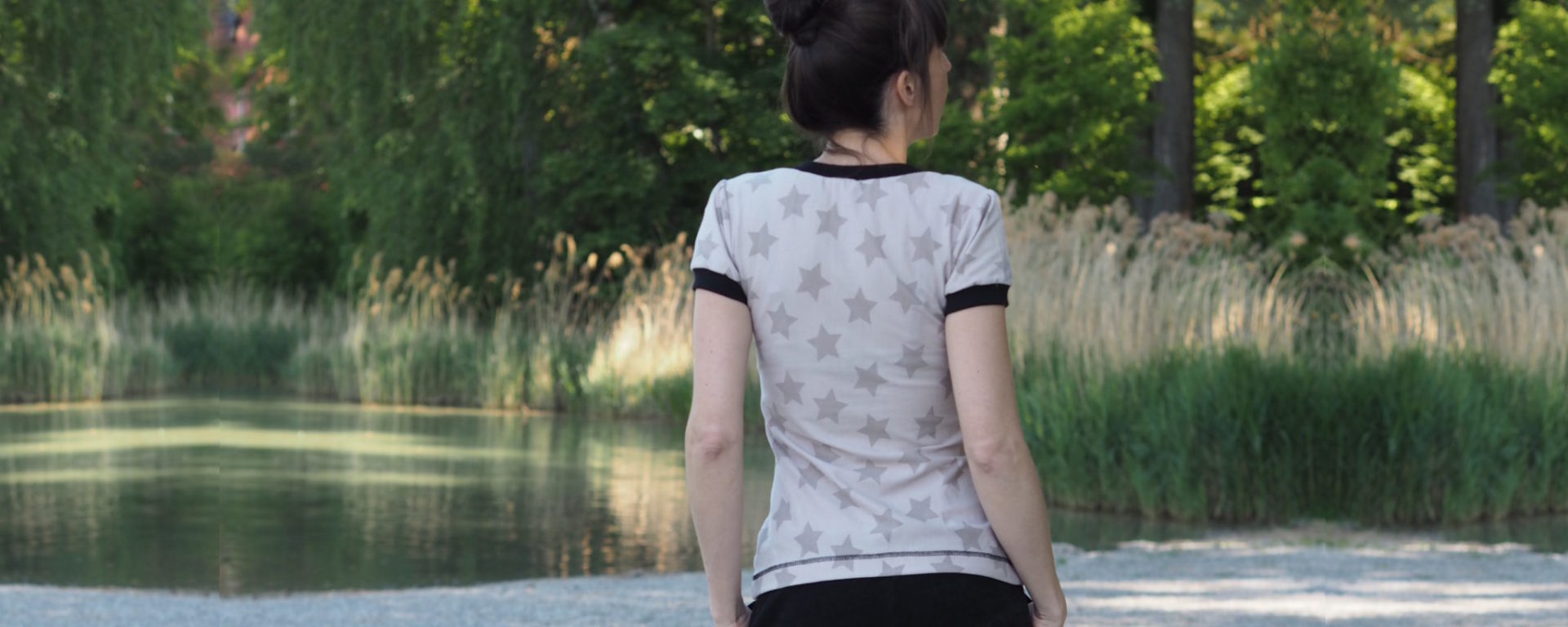 Schnittmuster Shirt Venla Textilsucht nähen 3 titel