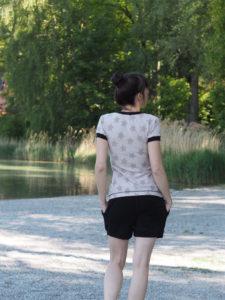 Schnittmuster Shirt Venla Textilsucht nähen 3