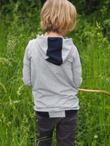 Schnittmuster Zauberlehrling Hood nähen lebenskleidung Neps Jersey 8