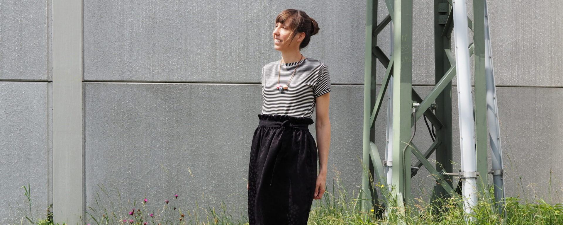 Paperbag Skirt | weisnähschen