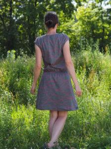 Schnittmuster Strandkleid Lillesol Pelle nähen 5