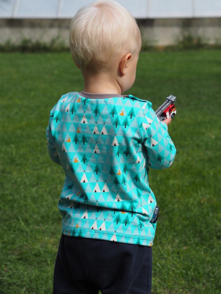 Schnittmuster Shirt LUKKE Kinder bela nähen 2
