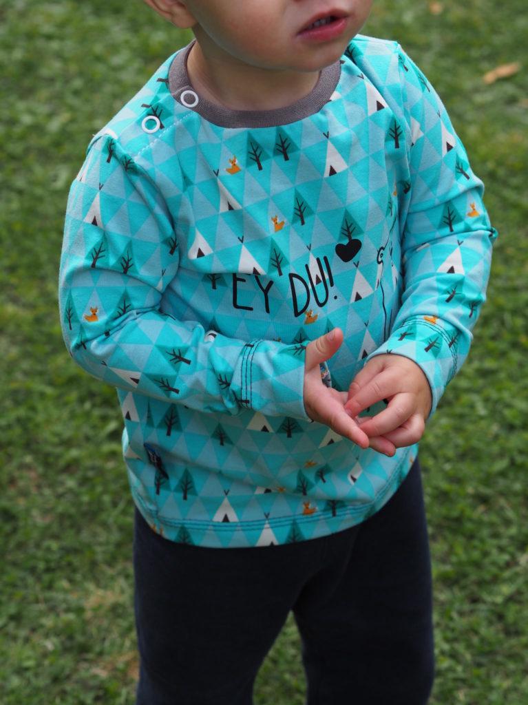 Schnittmuster Shirt LUKKE Kinder bela nähen 5