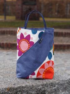Tasche in Pastelltönen Lillesol Und Pelle Buch Basics aus Webware nähen 1