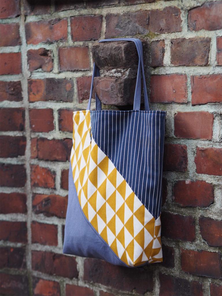 Tasche in Pastelltönen Lillesol Und Pelle Buch Basics aus Webware nähen 5