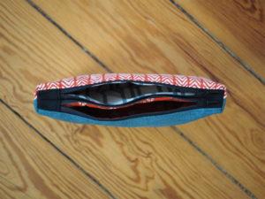Doppel Reißverschluss Täschchen 6
